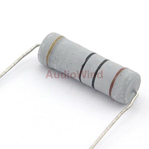 Electronics-Salon 10PCS 10 Ohm 5 Watts 5W Metal Oxide Film Resistor.
