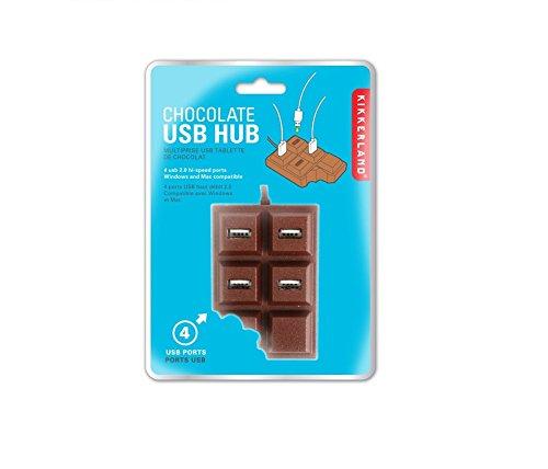 Geekgoodies Chocolate Bar USB Hub 4 Port