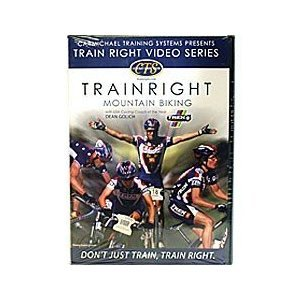 Trains Pedal (Carmichael Training Systems CTS Presents TRAIN RIGHT VIDEO SERIES - Trainright Mountain Biking - with USA Cycling Coach of the Year Dean Golich (Dvd) 60 minute specialized workout.)