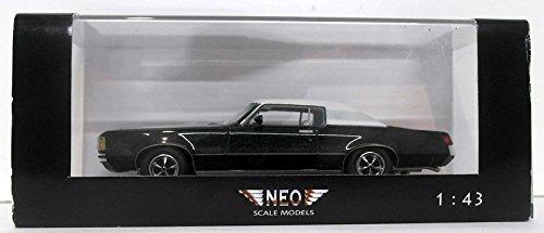 Pontiac Grand Prix HardTop Coupe, met.-dkl.-grün/weiss, 1972, Modellauto, Fertigmodell, American Excellence / Neo 1:43