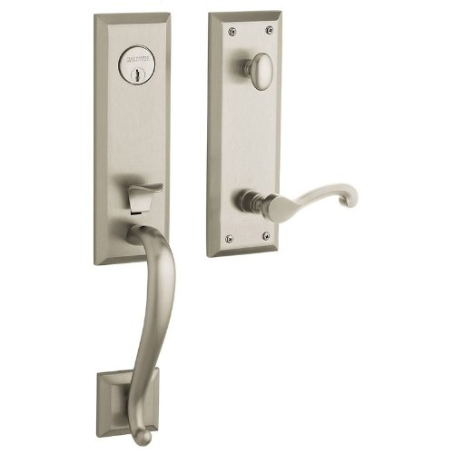 Baldwin Hardware 85355.150.RFD Handle Set