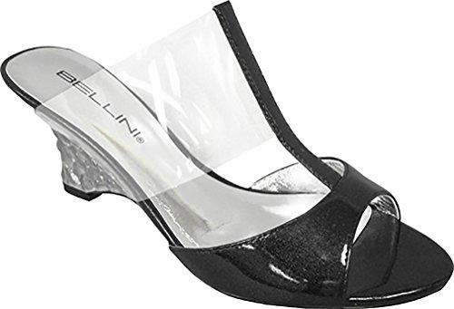 Bellini Women's DUBAI Black Fashion Sandals 7.5 M