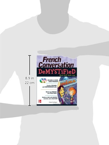 French Conversation Demystified with Two Audio CDs by McGraw-Hill Education (Image #1)