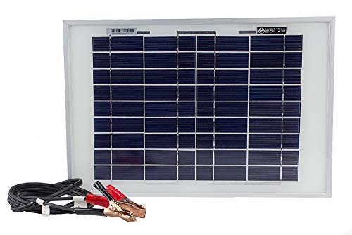 (Mighty Max Battery 10 Watt Polycrystalline Solar Panel Charger for Deep Cycle Battery Brand Product )