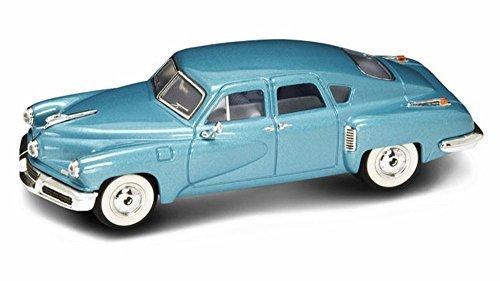 (1948 Tucker Torpedo, Blue - Yatming 43201 - 1/43 Scale Diecast Model Toy Car)