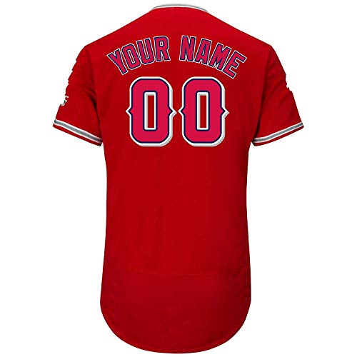 (Showcool Custom All Baseball Teams Jerseys Personalized Any Name and Number Jerseys for Mens Womens Youth)