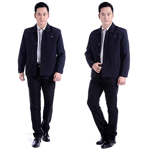 and Large BOZEVON New Jacket Tops Autumn Lapel Men's Style 04 Jacket Coat Casual Men Winter Size FWwnwrIR8q