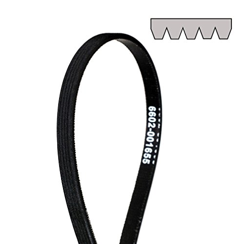 Drum Belt (6602-001655 Dryer Drum Ribbed Belt Replacement for for Samsung)