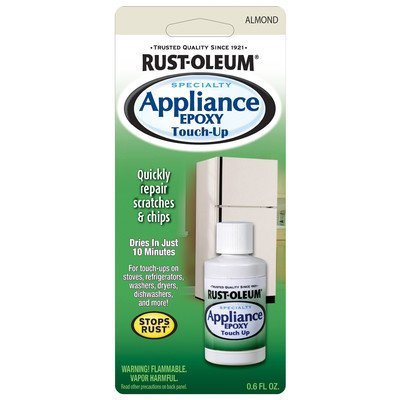 Rust-Oleum 203001 .6-Ounce Specialty Brush Bottle Appliance Touch Up, Almond by Rust-Oleum