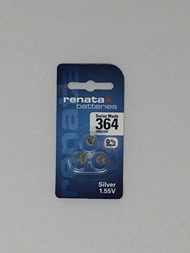 Renata Silver Oxide Watch Battery 364 - SR621SW