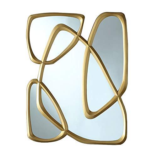 HELIn Wall Mirror Beveled Mirror Bathroom Home Decor Vanity Mirror
