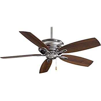 Minka Aire F614 Pw Timeless 54 Quot Ceiling Fan Pewter