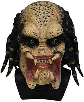 Hengyutoy Mask Alien Máscara Skeleton Predator Cosplay Martian ...