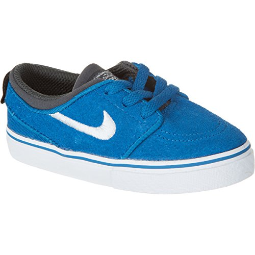 Nike SB Kids Baby Boy's Stefan Janoski (Infant/Toddler) Military Blue/Anthracite/Black/White 4 Toddler M