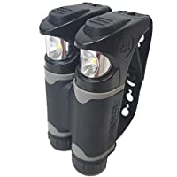 Knuckle Lights Colors -- Innovative LED Flashlight for Running & Jogging, Dog Walking, Camping & Hiking -- 2 Units Provide Powerful & Bright Night Visibility and Illumination