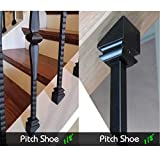 Iron Baluster Shoes (10-Pack) Stair Parts for