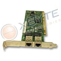 Dell - Dual Port (2 x RJ-45) PCI-X Gigabit Ethernet Adapter. Mfr. # J1679