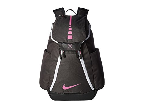 Nike Team Usa Basketball - Nike Hoops Elite Max Air Team 2.0 Basketball Backpack Anthracite/Black/Pinkfire II Size One Size