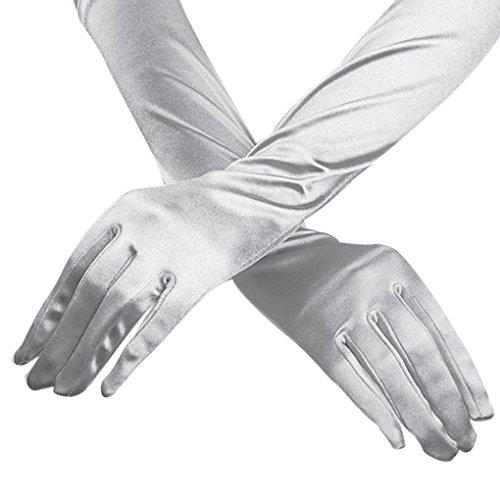 Women Stretch Bridal Gloves Wedding
