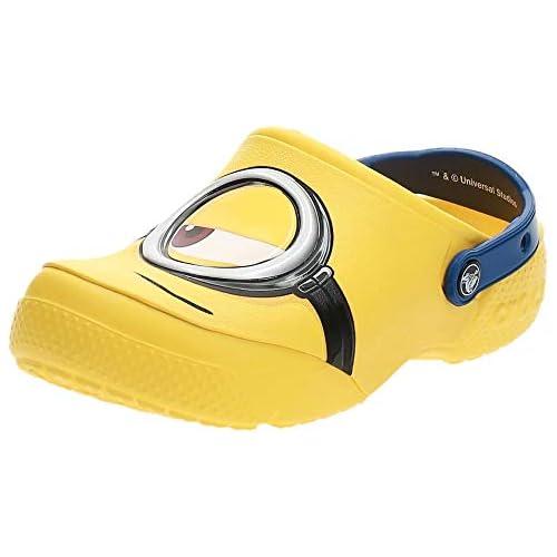 chollos oferta descuentos barato Crocs Fun Lab Minions Clog Unisex Niños Zueco Amarillo Yellow 19 20 EU