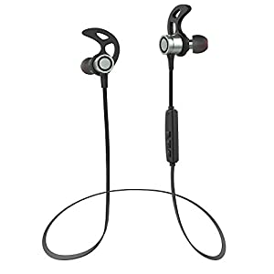 HiCool T7 Bluetooth Headphones, Wireless 4.1 In-Ear Earbuds Magnetic Sport Stereo Earphones with Microphone