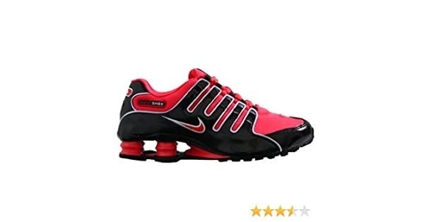 hot sale online d3821 1370d coupon code amazon nike shox nz womens running shoes black siren red white  314561 060 10