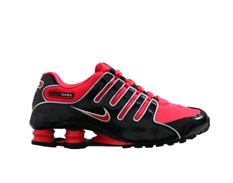 86ee2ef88a7188 Gray Black And Red Nike Shox