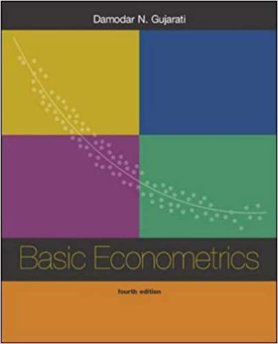 Book Basic Econometrics 4/e