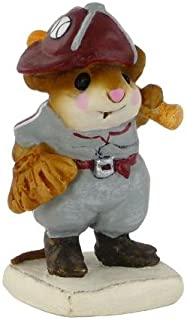 product image for Wee Forest Folk MS-15 Batter Up! (Maroon and Gray)