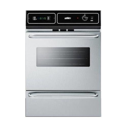 Summit TEM721BKW Kitchen Cooking Range, Stainless Steel