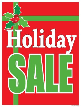 image about Retail Sale Signs Printable named : P15BOW Getaway Sale Bow Style Xmas