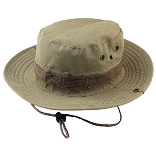 [Tanming Outdoor Camouflage Hat/Boonie/Fisherman Hat (Ka Qi)] (Fisherman Costume)