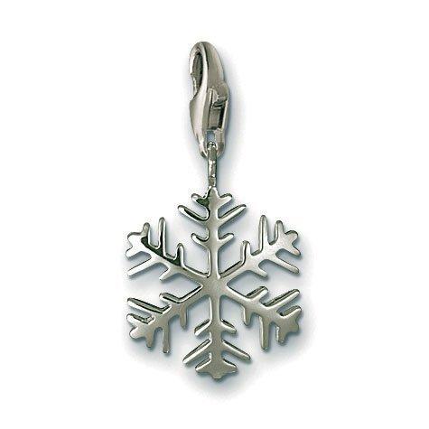 Thomas Sabo Snowflake Charm, Sterling Silver (Jewellery Sabo Thomas)