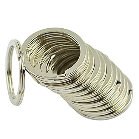 CAOLATOR.12 piezas Llavero Redondo de Metal Placa de Plata ...
