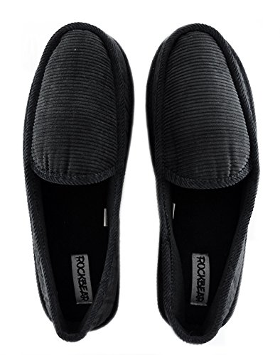 Comfortable Mens Corduroy Slip On House Slippers Shoes without BOX YTQmrHBejH