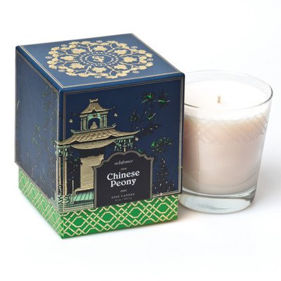 Jardin Chinese Peony Boxed Candle