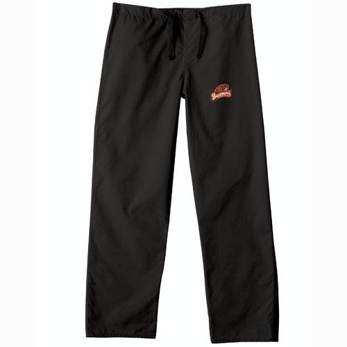Oregon State Beavers NCAA Classic Scrub Pant (Black) (2X Large) by Gelscrubs