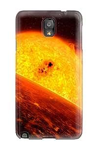 Premium Tpu Sun Cover Skin For Galaxy Note 3