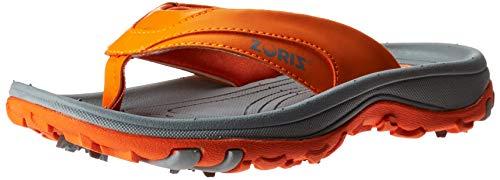 ZORIZ Golf Sandal,Orange,10