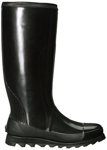 Sorel Wellington Boots Joan Rain Tall G. Black/Sea Salt