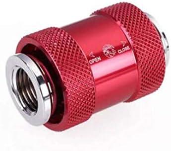 Bykski B-HP-DV G-1//4 Water Cooling Valve Red