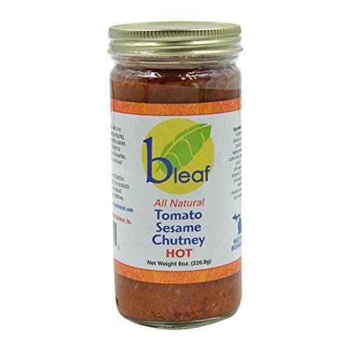 Bleaf, Tomato Sesame Hot Chutney, 226 Grams(gm) - Tomato Garlic Chutney