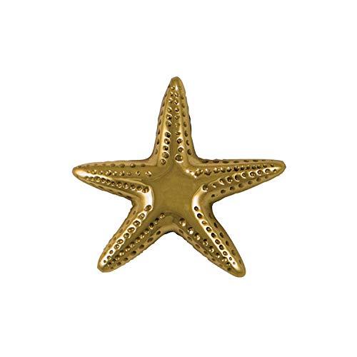 Starfish Doorbell Ringer - Brass