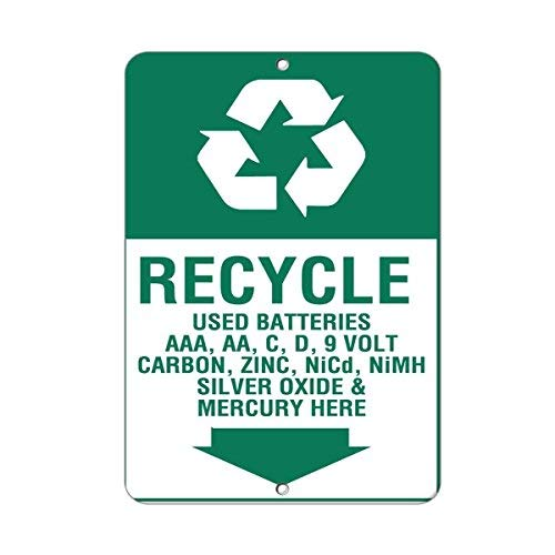OSWALDO Recycle Used Batteries AAA, Aa, C, D, 9 Volt for sale  Delivered anywhere in USA