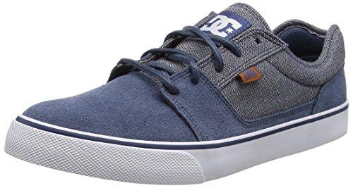 Indigo Zapatilla M DC Tonik Shoe Vintage Cuero SE XBKC de Azul Hombre Deportiva XqTq7