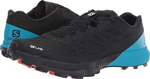 Salomon Unisex S/Lab XA Amphib 2 Black/Black/Transcend Blue 10.5 Women / 9.5 Men M US