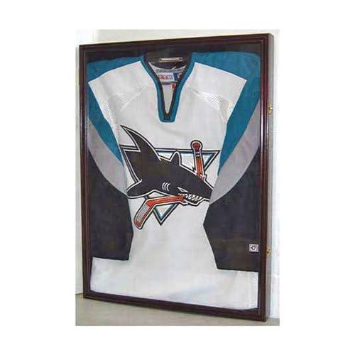 outlet XX Large Football/Hockey Uniform Jersey Display Case frame ...