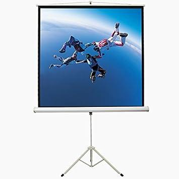 360 °Drehbare pantalla de proyección enrollable de cine en casa de ...