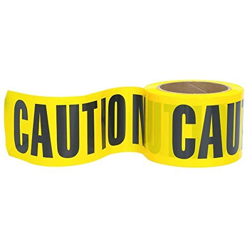 (RK High-Visibility Yellow Caution Barricade Tape 3