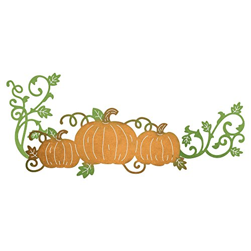 Cheery Lynn Designs B827 3 Piece Fall Pumpkin Patch Die Set